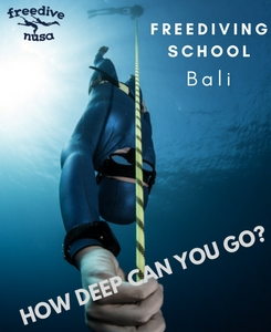 FREEDIVING SCHOOL ON NUSA PENIDA